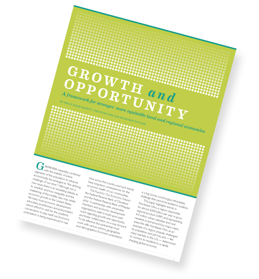 Growth & Opportunity Framing Paper