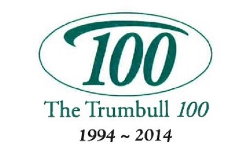 Trumbull 100 logo